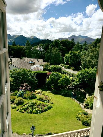 The Grange Country House: Waking up to this view was a treat!
