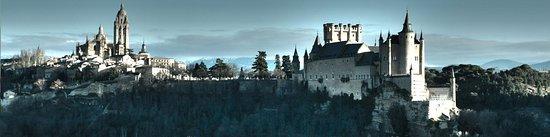 Alcázar de Segovia y catedral