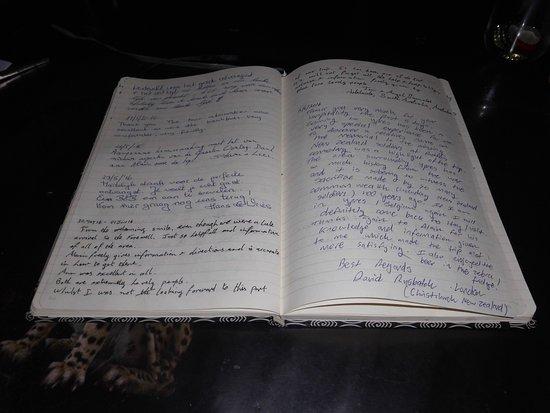 Geluveld, Belgium: Ons gastenboek