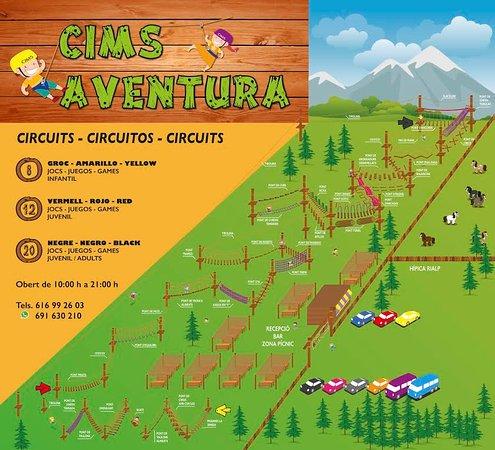 Rialp, España: CIMS AVENTURA