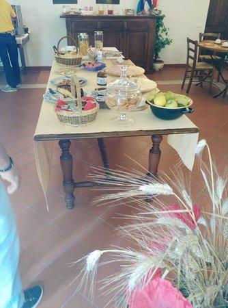 Vagliagli, Italien: sala colazione