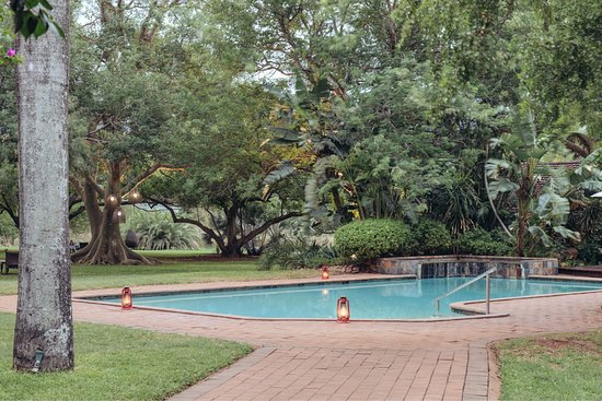 Swimming Pool at Ghost Mountain Inn