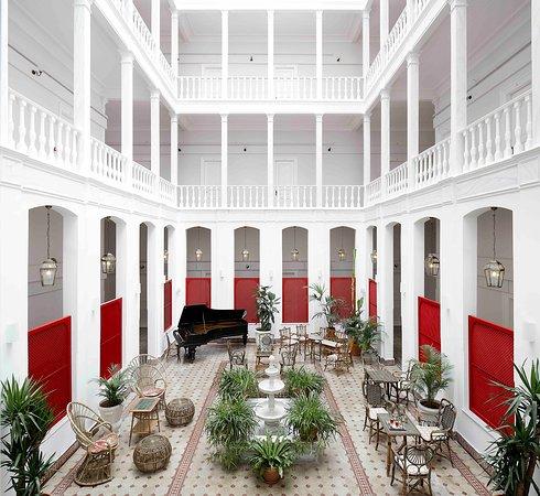 Splendid Palace Hotel: avlu