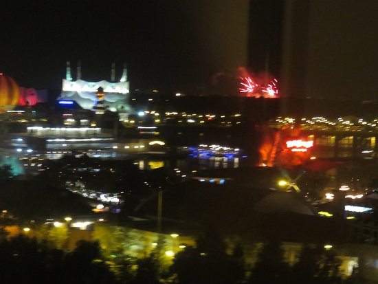 Hilton Orlando Lake Buena Vista - Disney Springs™ Area: Fireworks over Disney Springs