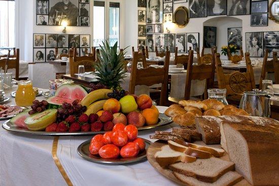 Hotel America : Frühstücksbuffet
