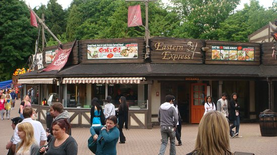 Great Cheap Halal Food Available At Alton Towers Eastern Express Alton Traveller Reviews Tripadvisor
