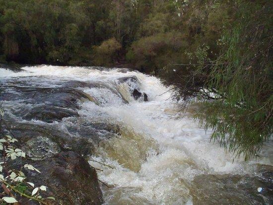 Пембертон, Австралия: Cascade,s after the rain