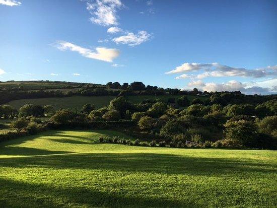 Durrus, Ирландия: Blick in einen Teil des Gartens