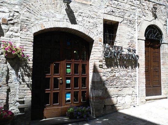 Hotel San Rufino: ingresso