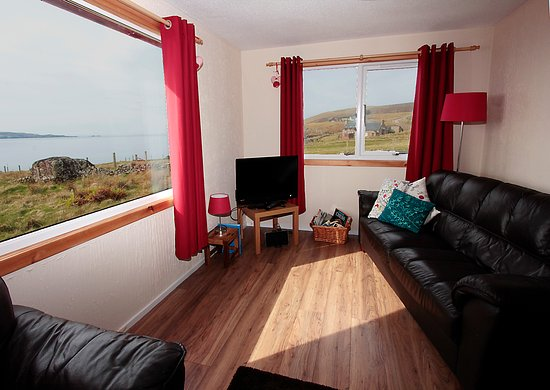 Achiltibuie, UK: All our chalets have fantastic views out to the Summer Isles