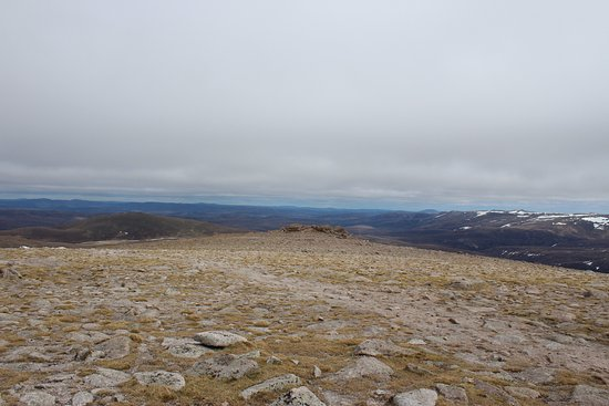 Aviemore, UK: At the top