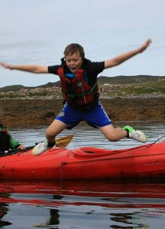 Achiltibuie, UK: Having fun on the water!