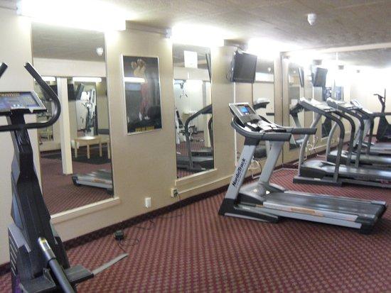 Quality Inn Owen Sound : fitness centre