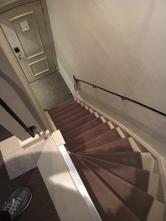 The Dylan Amsterdam: Dangerous U0026 Steep Stairs In Room