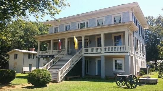 Gordonsville, Wirginia: The Exchange Hotel / Civil War Museum. It was used as a hospital during the war