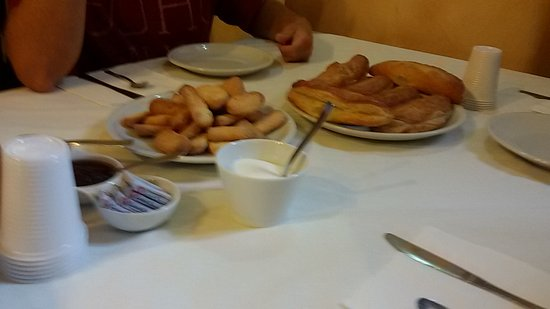 Monticchio Bagni, İtalya: colazione