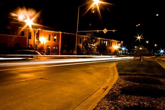 The Depot Theater at night. - Picture of Depot Theater Company ...