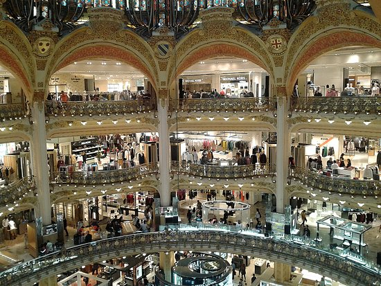 picture of galeries lafayette paris. Black Bedroom Furniture Sets. Home Design Ideas