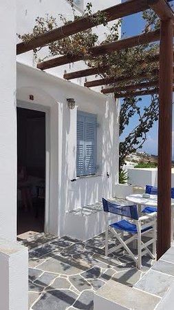 Petali Village Hotel: terrasse de la chambre
