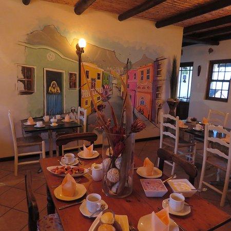 Swellendam, Sydafrika: Breakfast room