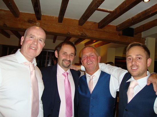 Titchwell, UK: Me, Andrey, Malcolm, Ad