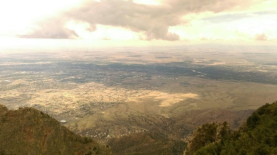 Sandia Park, Nouveau-Mexique : View towards ABQ