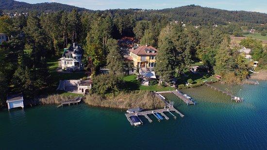 Hotel Villa Rainer: Luftaufnahme