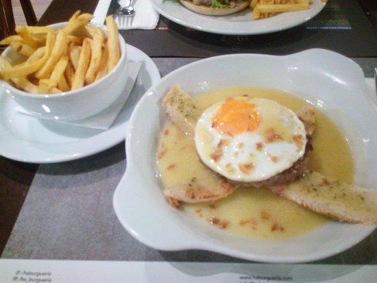 Carnaxide, Portugal: Hamburger cervejeiro