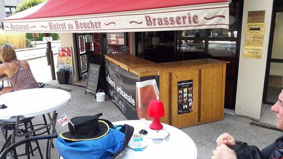 Aurillac, Francia: l'entrata