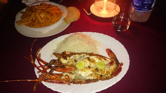 Wave's Restaurant and Bar: Aragosta grande grigliata