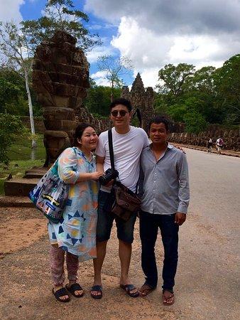 Siem Reap Taxi Service: Angkor Thom gate