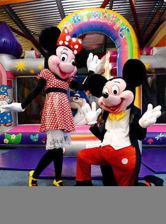 Workington, UK: Mickey and Minnie