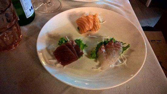 Corsico, Ιταλία: sashimi