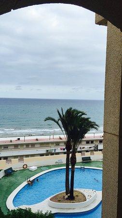 Playa de San Juan: Tranquilo aún en agosto , genial para familias