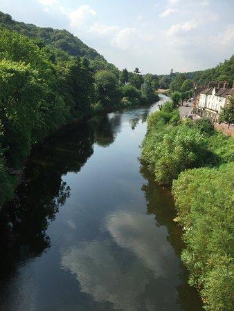 severn river from ironbridge