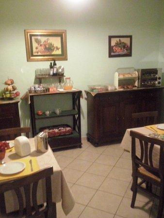 Al Galileo Siciliano: Sala colazione