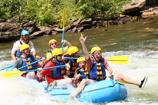 Ducktown, TN: Boogie rafting