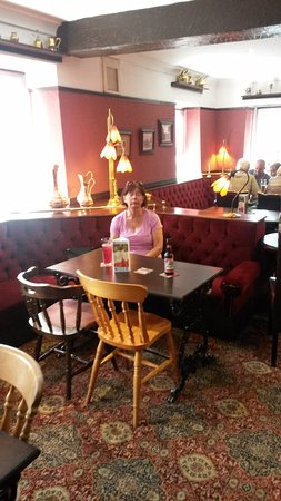 Temple Sowerby, UK: Dining in the bar area