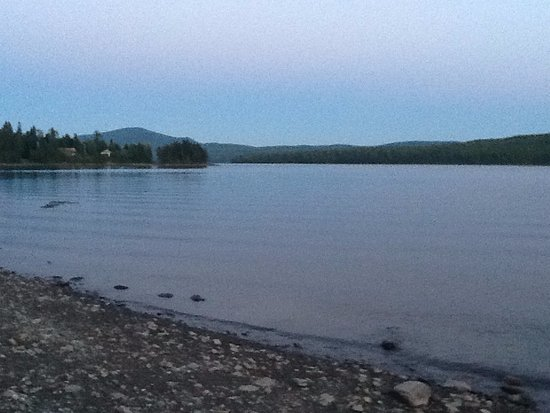 Pittsburg, NH: First Connecticut Lake view