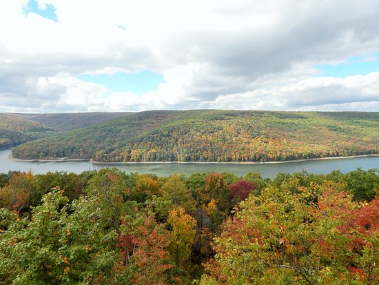 Bradford, Pensilvanya: Allegheny National Forest- Fall Foliage