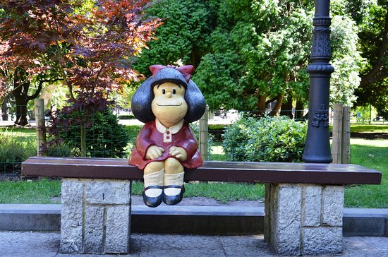 Estatua de Mafalda, Homenaje a Quino