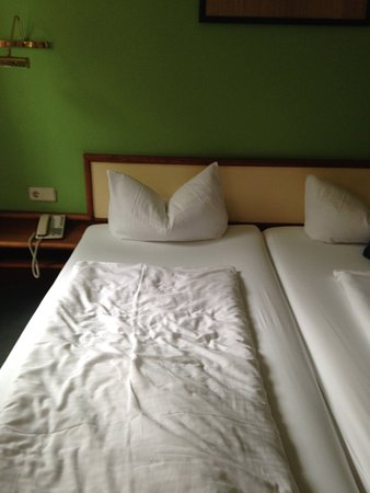 Mansfelder Hof: Lärm und schlechte Luft verhinderten einen entspannten Schlaf.