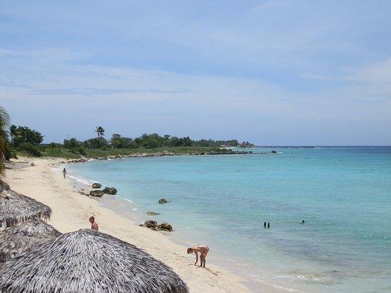 Hostal Casa di  Elio Ramos: Playa Ancon-Grill caribe
