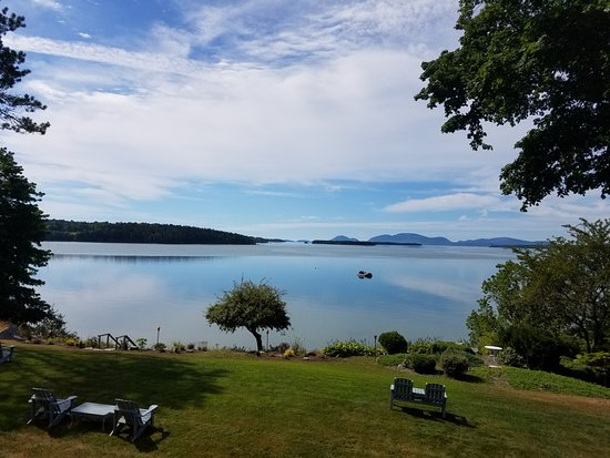 Sullivan, ME: The view from the breakfast porch