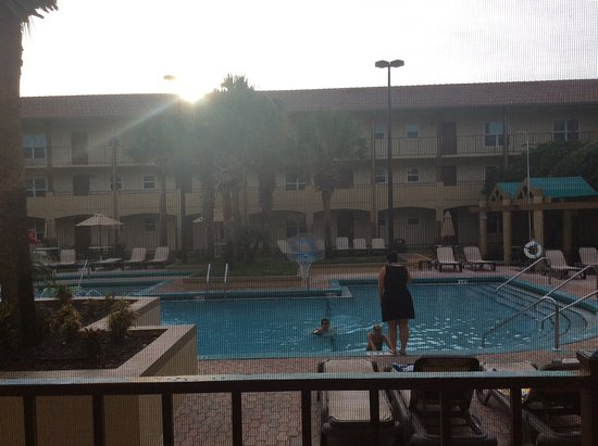 Blue Tree Resort at Lake Buena Vista: Pool from our room