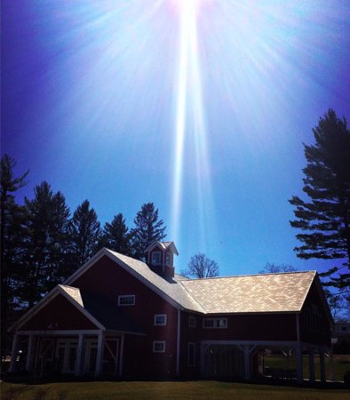 Manchester, VT: shining down on us