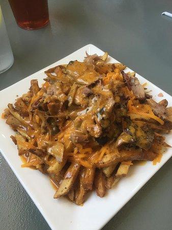 Clayton, GA: loaded fry appetizer