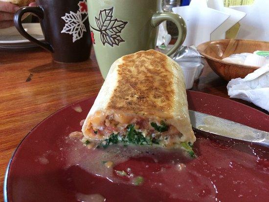Enderby, Kanada: Breakfast wrap