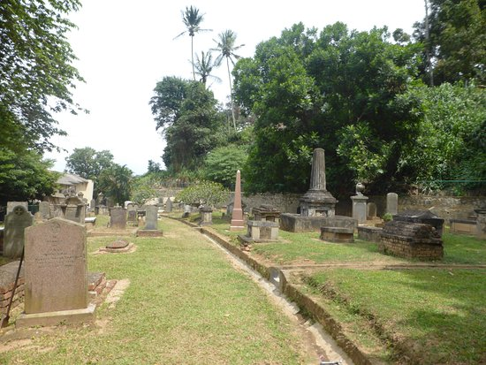 Kandy Garrison Cemetery: Vista general