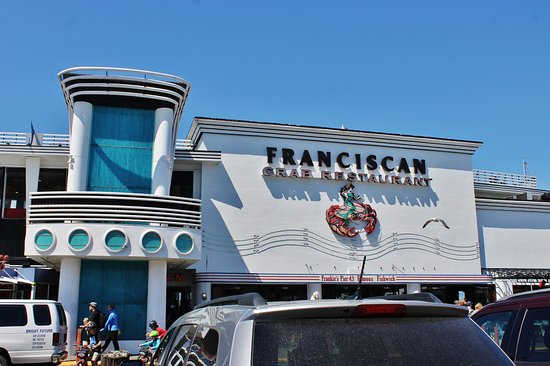 Franciscan Crab Restaurant : Excellent tables for watching the Bay. Great food and service.